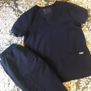 Figs Scrubs Color: Navy